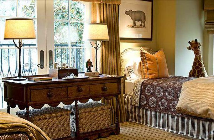 комната для детей в стиле сафари фото