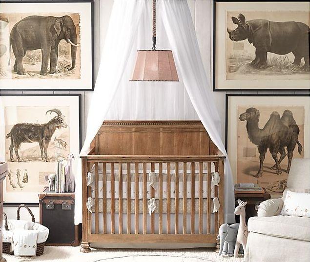 сафари в комнате для новорожденного фото