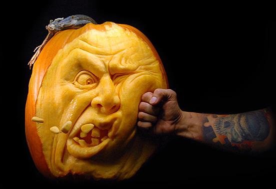 Как сделать тыквенный фонарь на Хэллоуин Hand-made