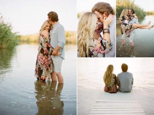 Love story фотосессия идеи летом фото