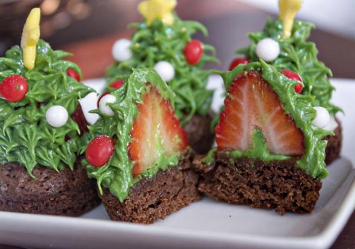 Рецепты не обычных блюд к новому году