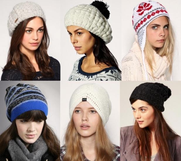 Модные шапки зима 2014 фото
