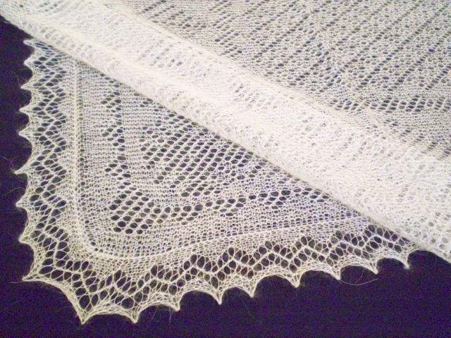 Схема вязания паутинки сложна,