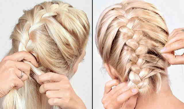 braid for 5 minutes