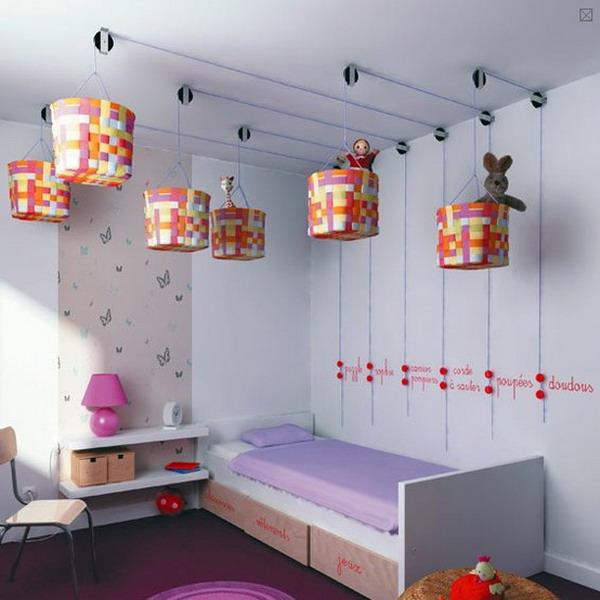 корзины под потолком