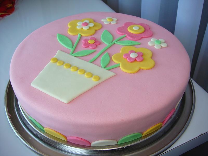 Идеи украшения торта в домашних