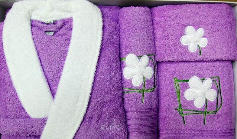 банный халат в подарок