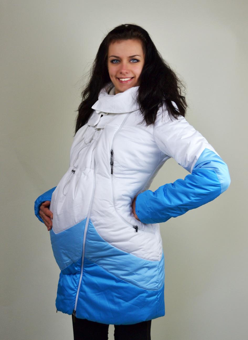 пуховик для беременных
