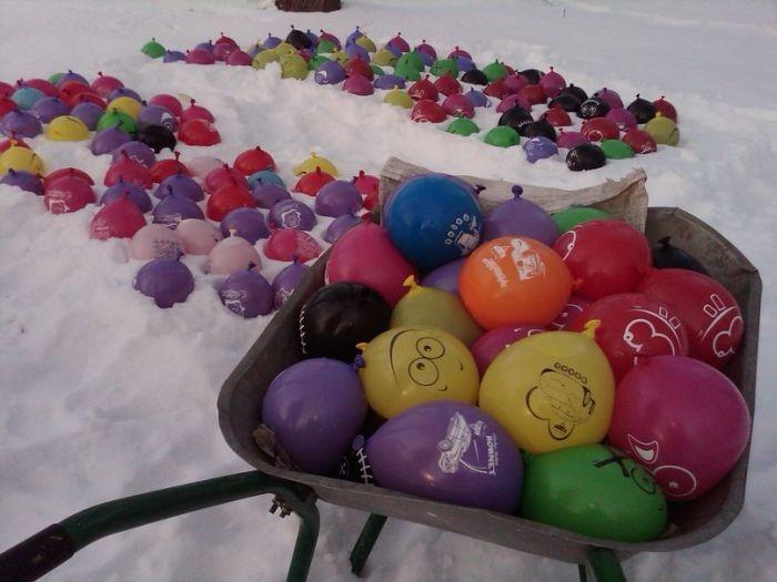 заготовки из шариков