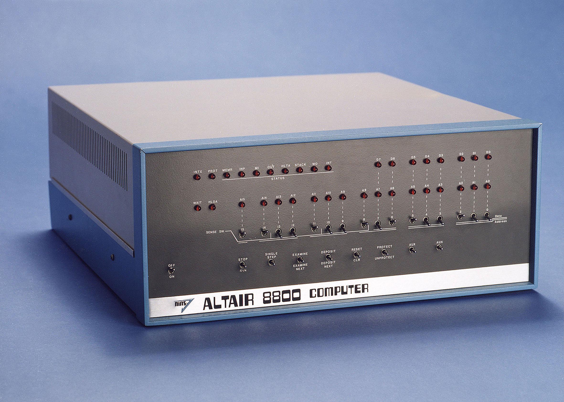 Первый ПК Альтаир 8800