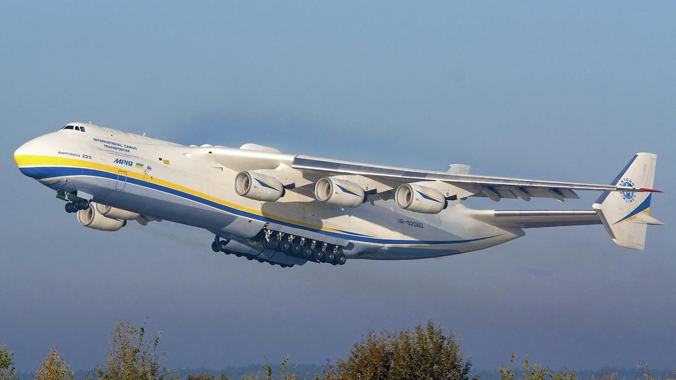 Картинка самого большого самолета в мире