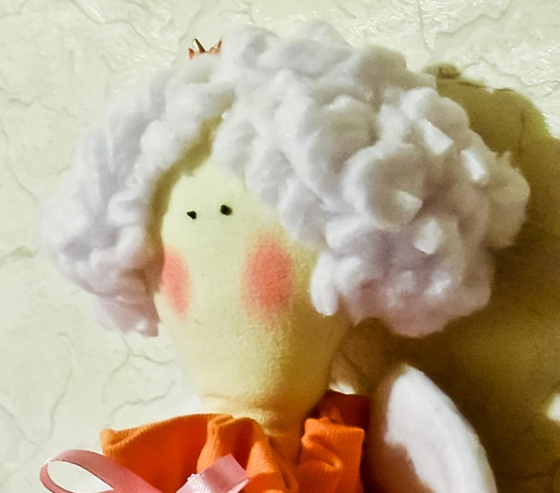 Как сделать волосы Кукле Тильде