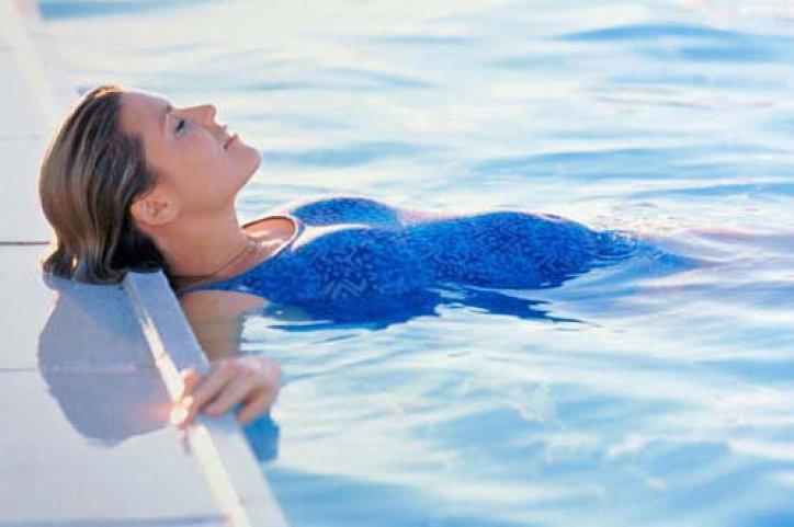 плавание во время беременности