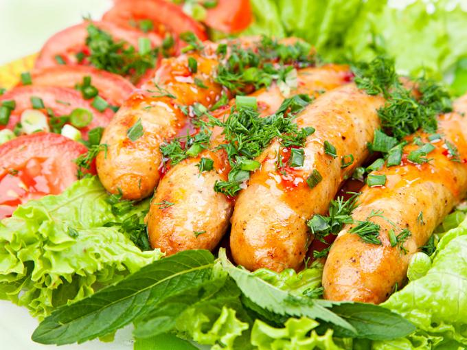 Салат по-французски рецепт с курицей
