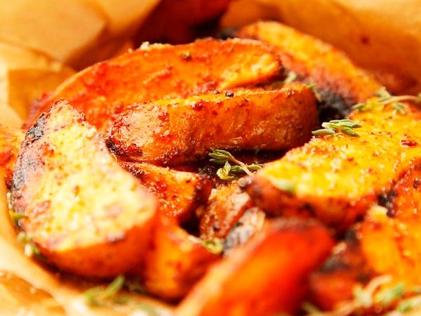 рецепт как сделать картошку фри в духовке