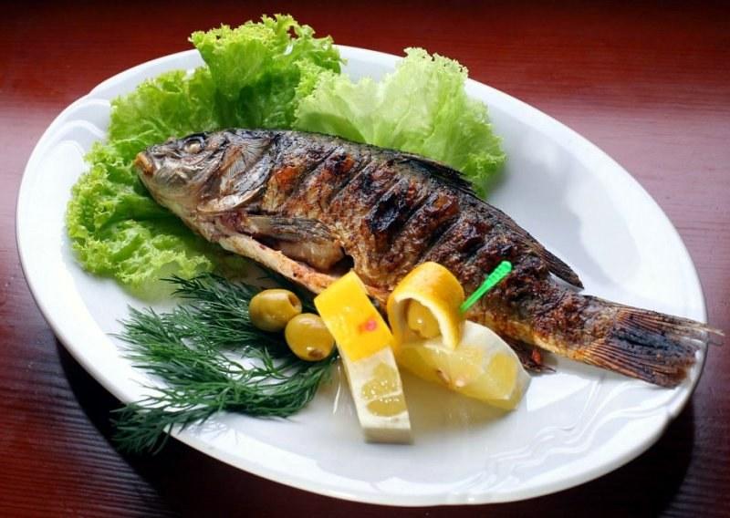 Картинка рыбы жареной для детей