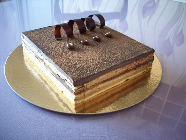 Классический рецепт торта Опера