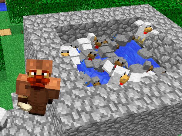 Как получить яйца курицы в майнкрафт