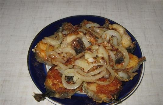 Рецепт приготовления минтая под маринадом
