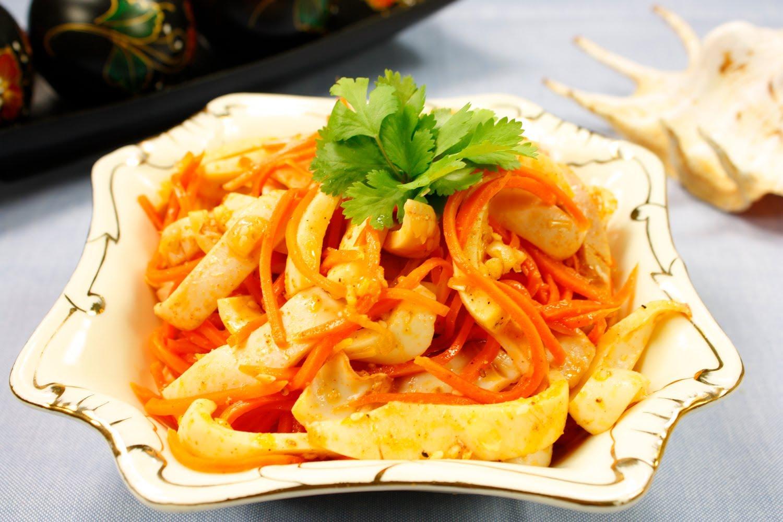 хе из кальмаров по корейски рецепты с фото одни первых