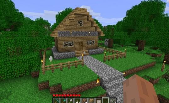 Как сделать дом в майнкрафт самый фото 913