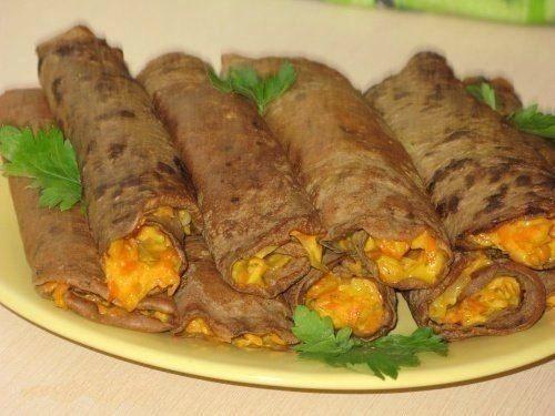 Рецепты начинки из печени для блинов рецепт