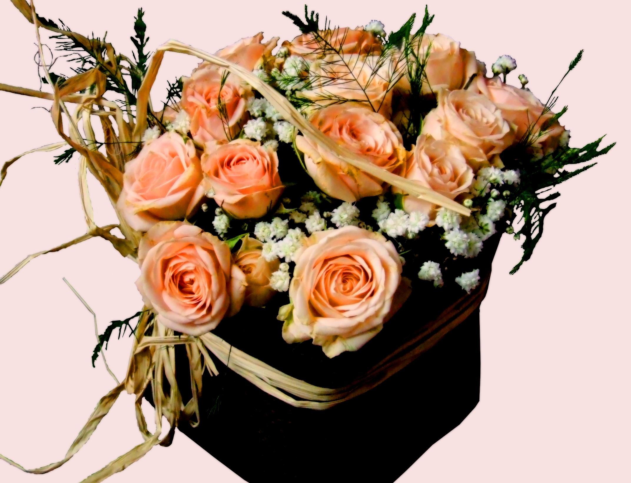 Аппликации цветов из весенних цветов