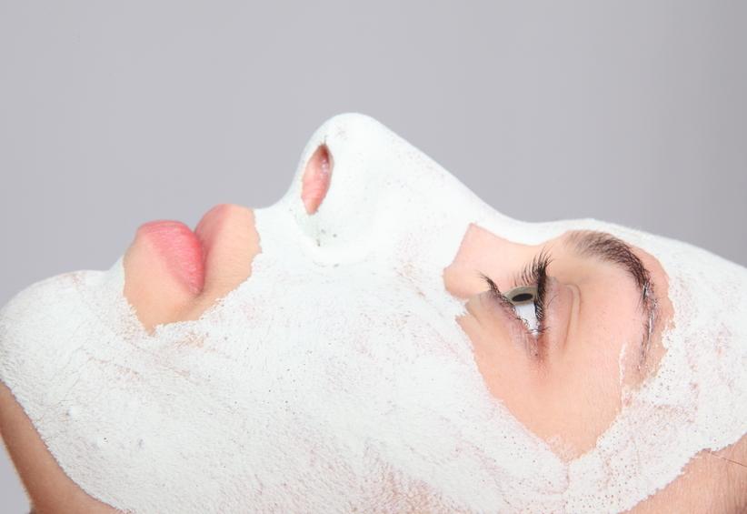 Чёрная маска для лица купить в москве