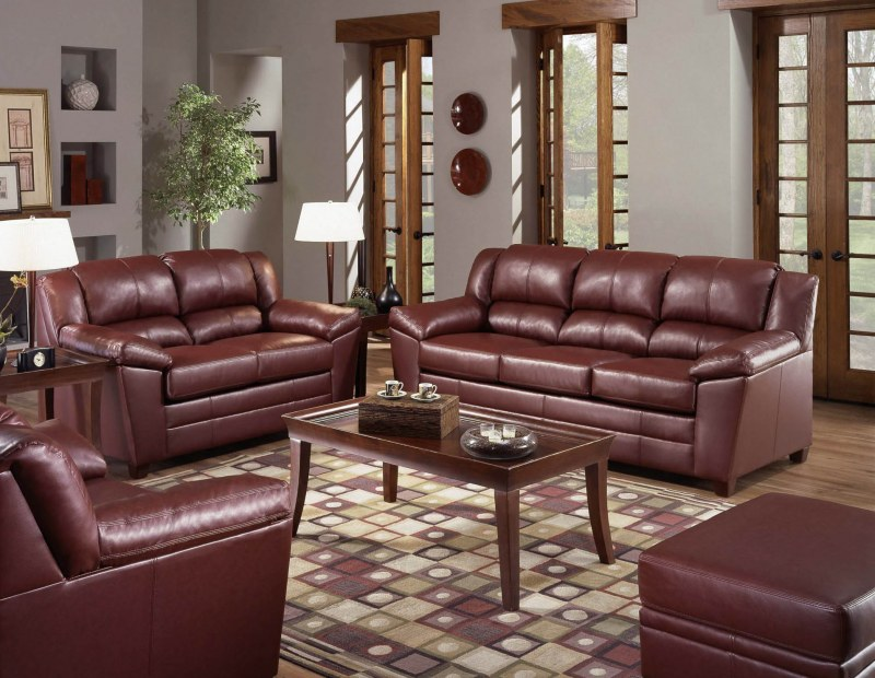 how to get stains out of leather sofa