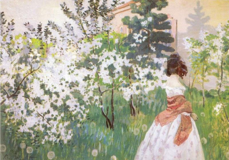 Картинки по произведению вишневый сад