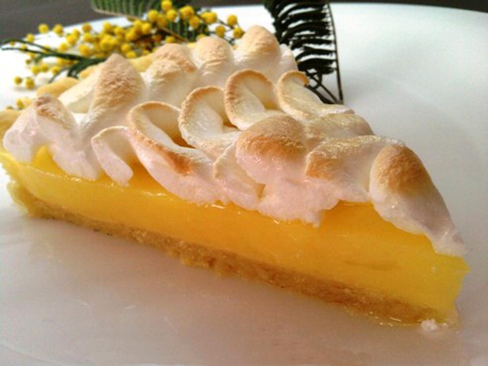 Лимонный пирог с безе рецепт пошагово