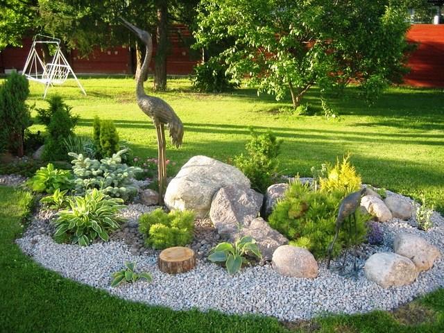 Как обустроить сад камней на своем участке Как обустроить