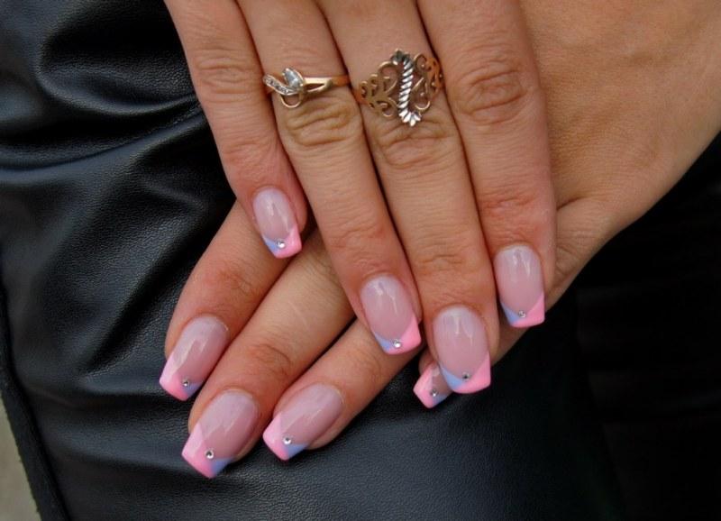 Как сделать ногти объемными 112