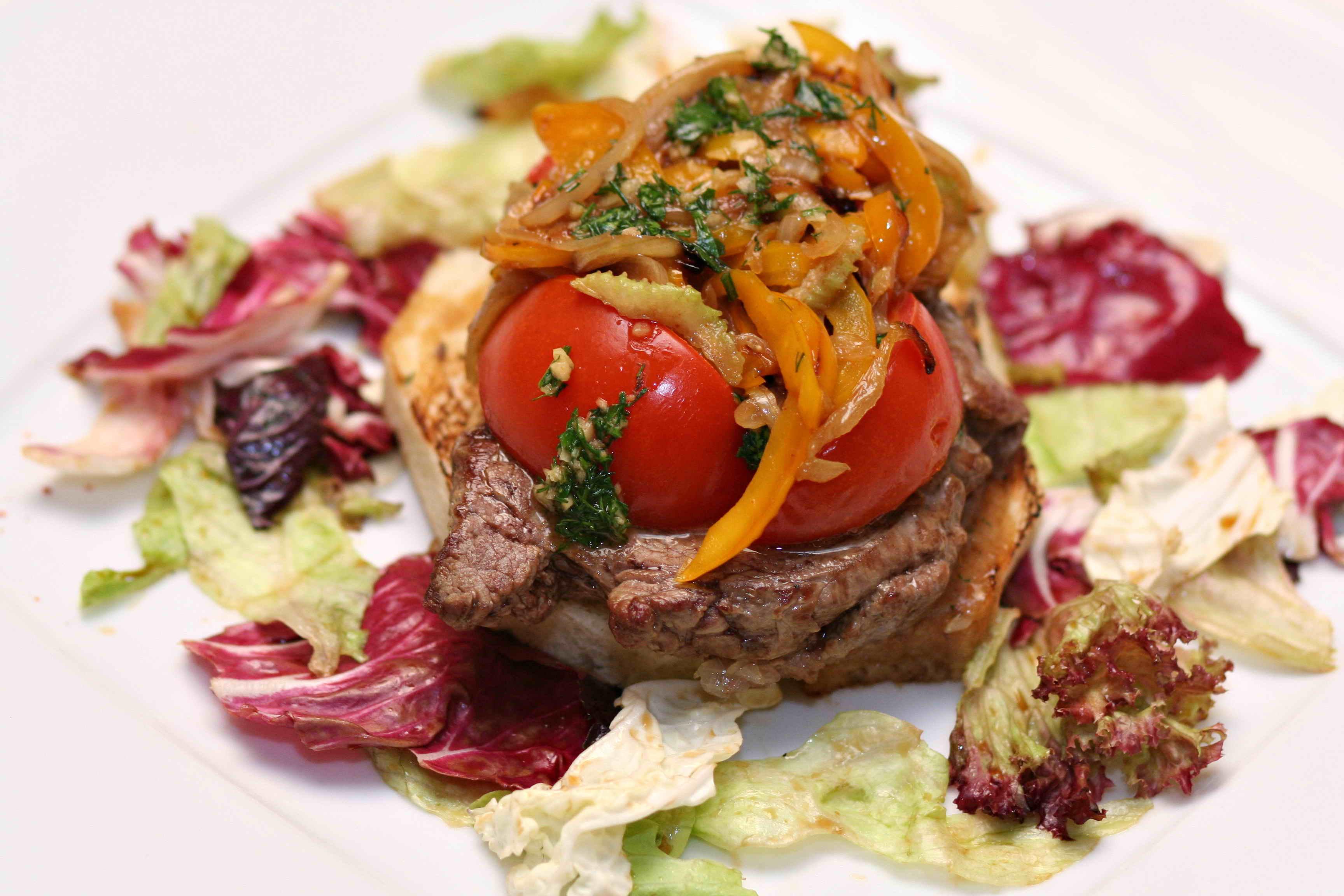 Изысканные блюда из мяса рецепты с фото