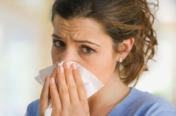 аллергия нос заложен постоянно