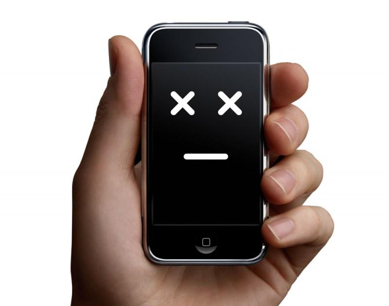 телефон не включается