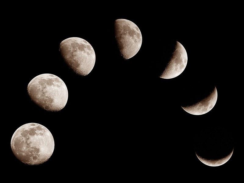 Фото луны в разных фазах начала попробуем