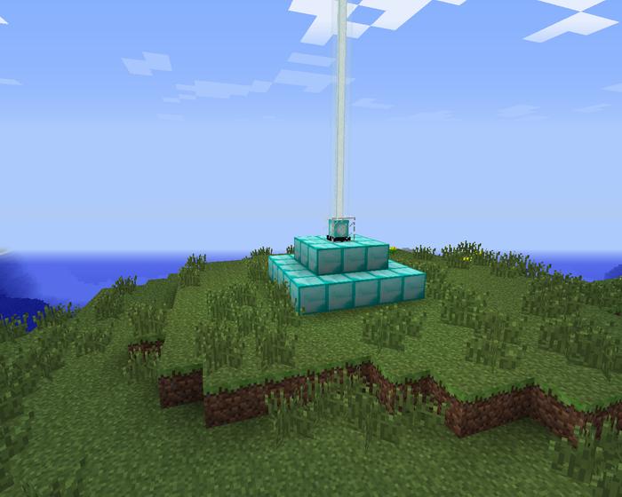 Майнкрафткак построить маяк