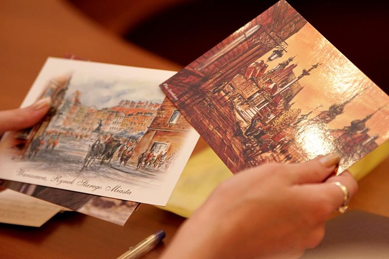 Стеклянная хрустальная, отправка открытки по почте