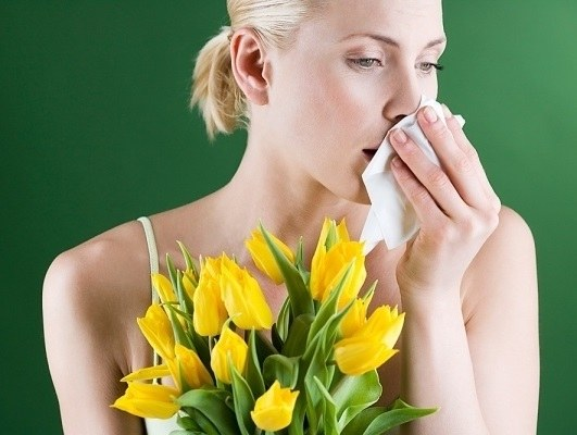 как выглядит аллергия на холод на лице