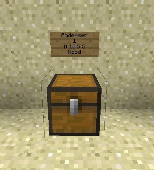 Как сделать ящик в майнкрафте