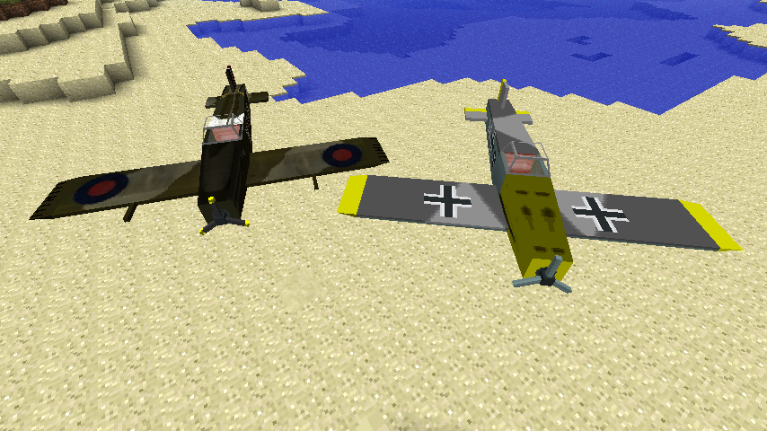 Мод на самолеты, машины и оружие для minecraft 1.8.1 ...