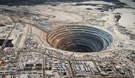 Алмазная шахта