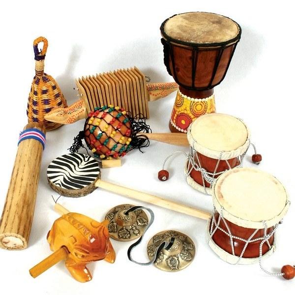 Картинка различных музыкальных инструментов