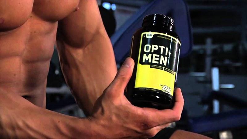 спортивные витамины для массы