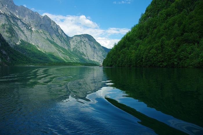 Удивительные места германии озеро кенигзее
