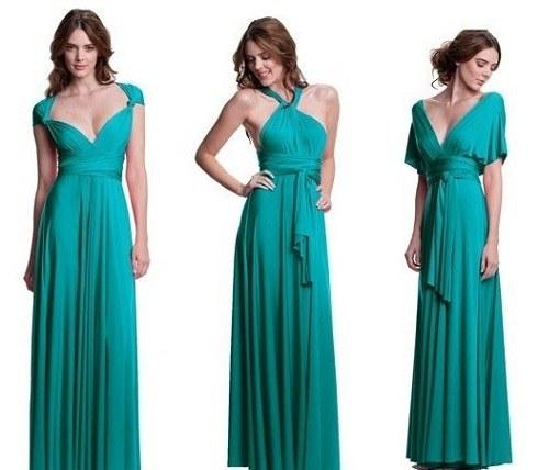 Платье в пол просто своими руками