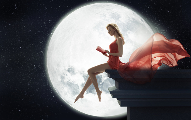 Луна оказывает влияние на рост волос