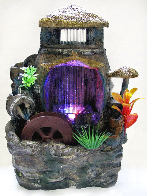 Водяная мельница для активации зоны богатства