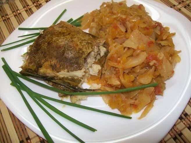 Блюда из терпуга рецепты с фото